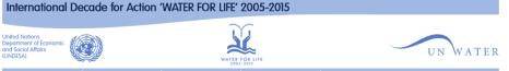 UN water Enews banner